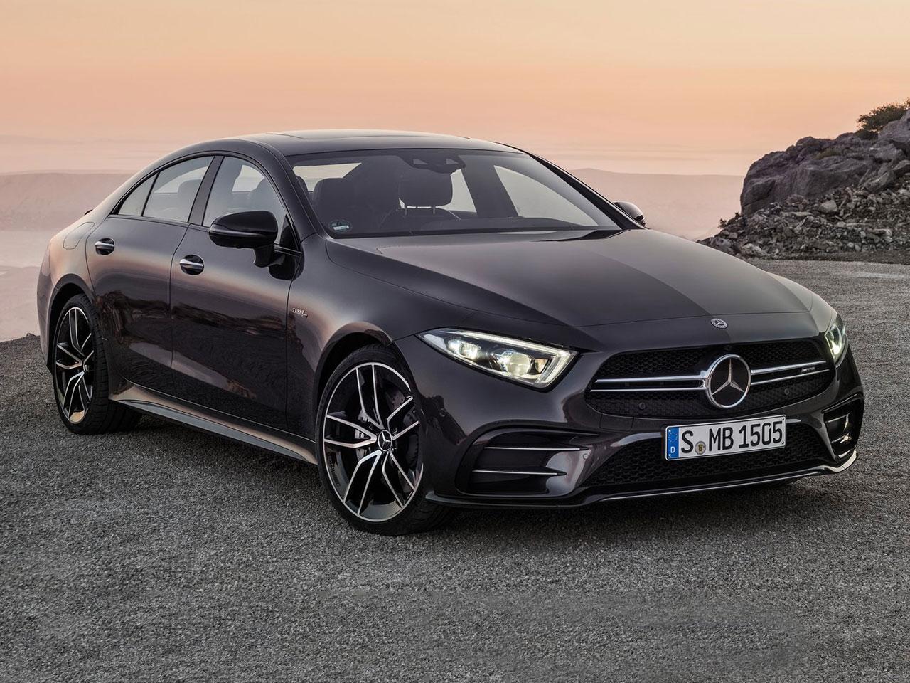 mercedes cls coup amg 2018 datos y precios. Black Bedroom Furniture Sets. Home Design Ideas