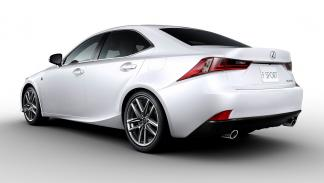 Lexus IS 2013 300h Hybrid Plus Safety (Ébano gris) - 2