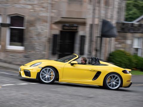 Porsche 718 Spyder dinámica