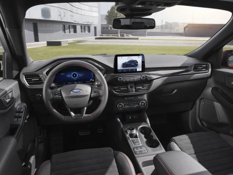 Ford Kuga interior y tecnología