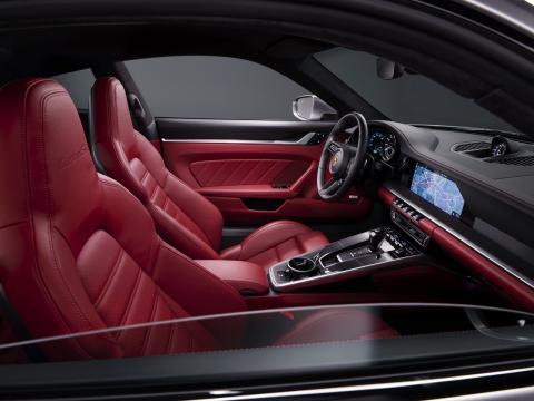 Interior del Porsche 911