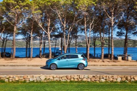 Renault Zoe carretera