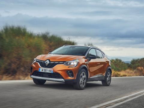 Renault Captur exterior