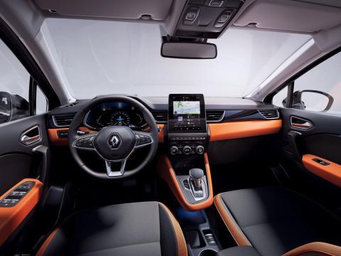 Interior del Renault Captur