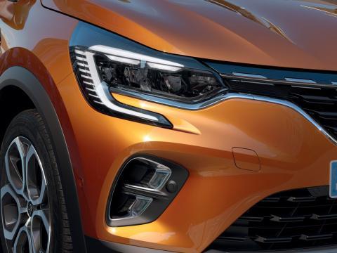 Faros del Renault Captur