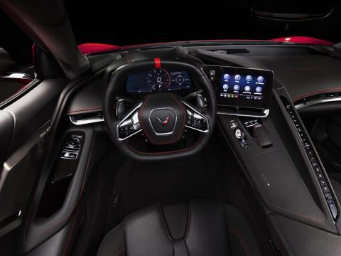 Corvette desde el interior