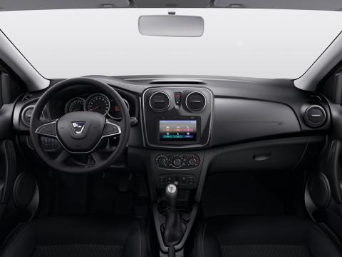 Interior del Dacia Logan