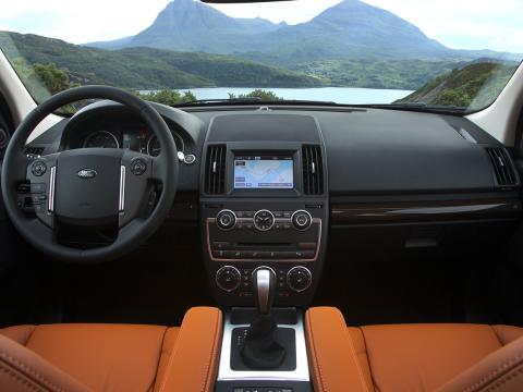 Land Rover Freelander 2 interior