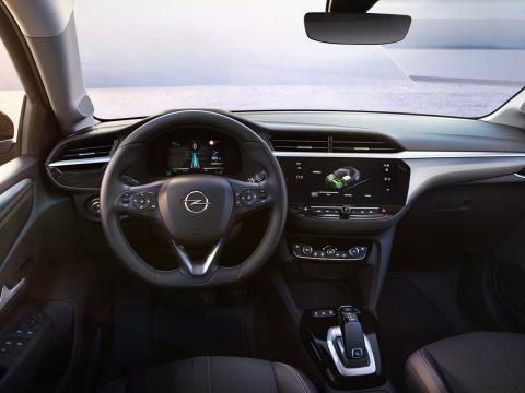 Interior del nuevo Opel Corsa