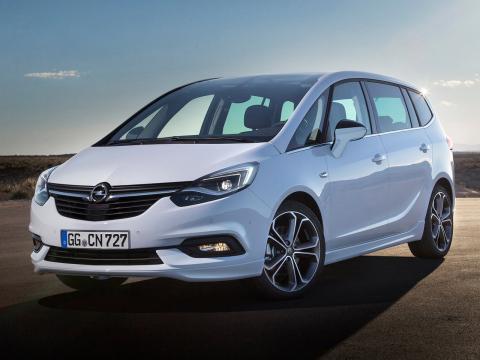Opel Zafira 2020 Descripcion General Precios Y Fichas Tecnicas