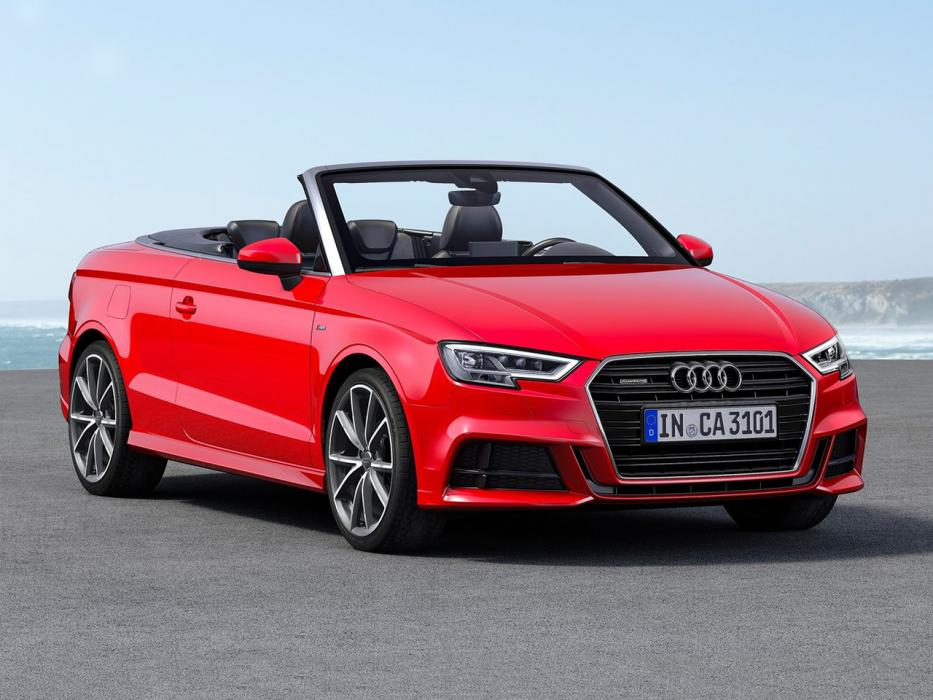 audi a3 cabrio 2017 datos y precios. Black Bedroom Furniture Sets. Home Design Ideas