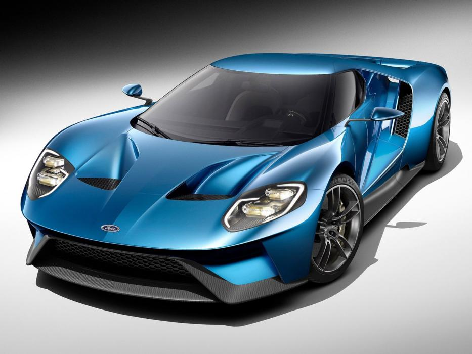 Ford GT 2017 3.5 Twin-Turbo EcoBoost V6 - 0
