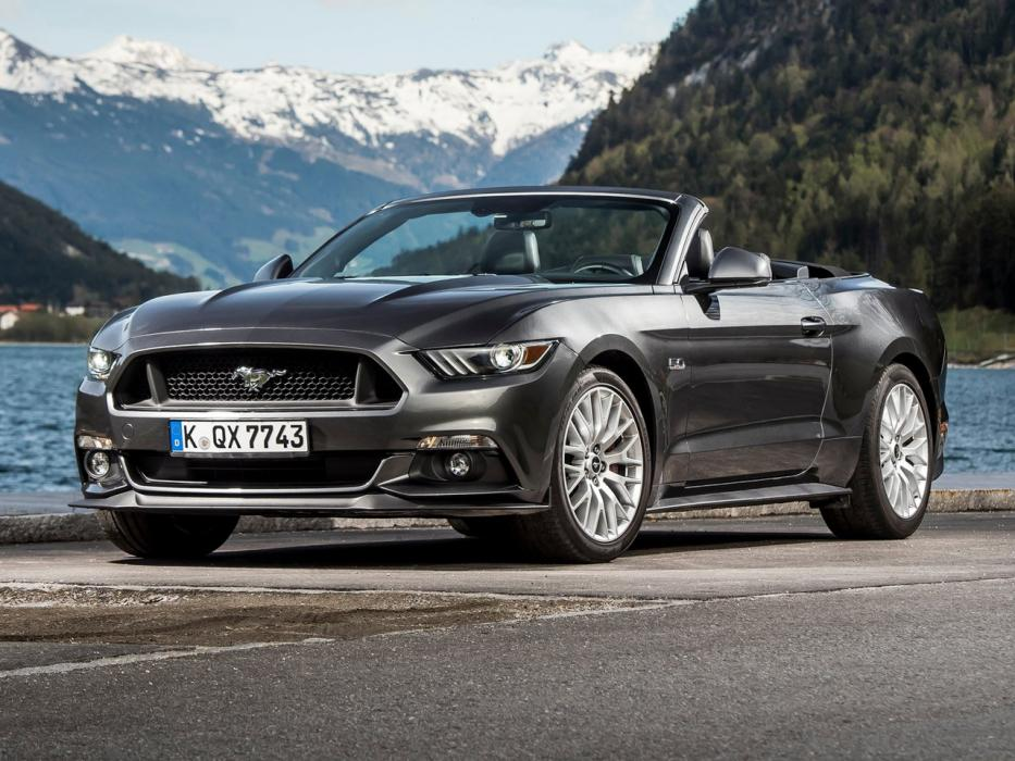 Ford Mustang Convertible 2015 2.3 EcoBoost 314CV Automático - 0