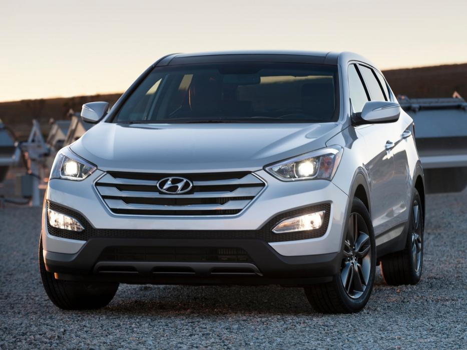 Hyundai Grand Santa Fe 2012 2.2 CRDi 4X4 AT Style Brown - 0