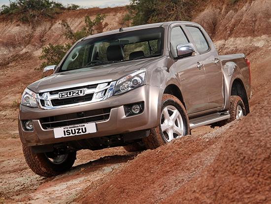 Isuzu D-Max 2012 Single Satellite 4X4 M/T - 0