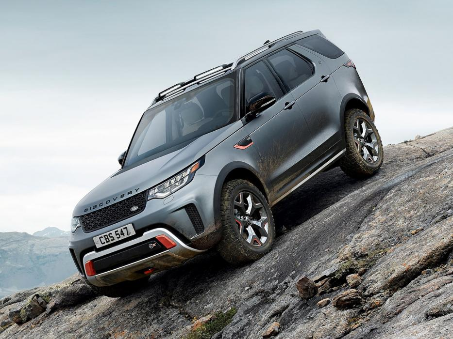 Land Rover Discovery SVX 2018 - 0
