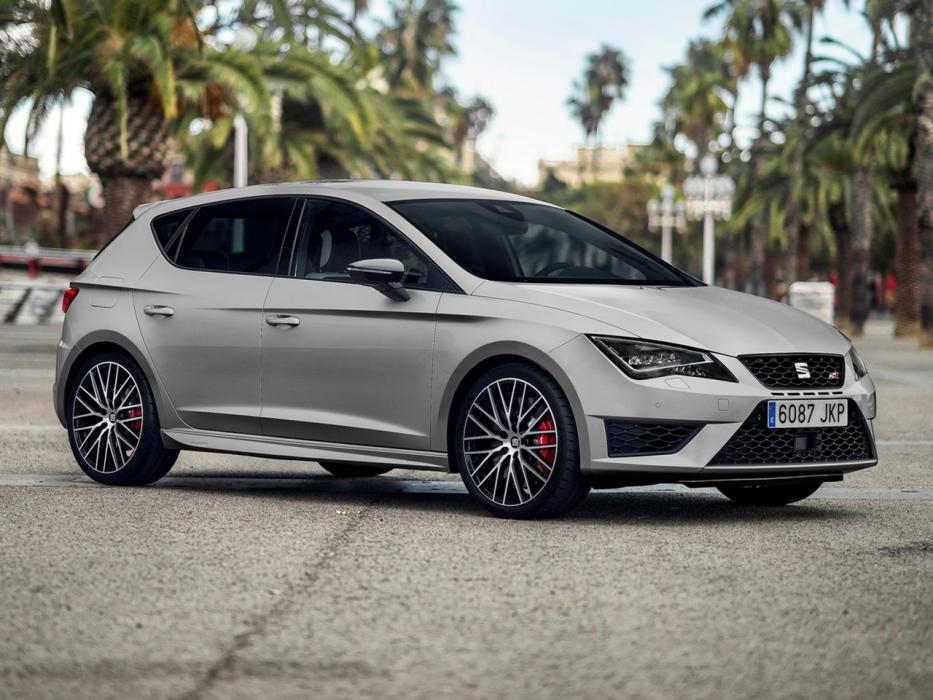 seat leon cupra 2017 datos y precios. Black Bedroom Furniture Sets. Home Design Ideas