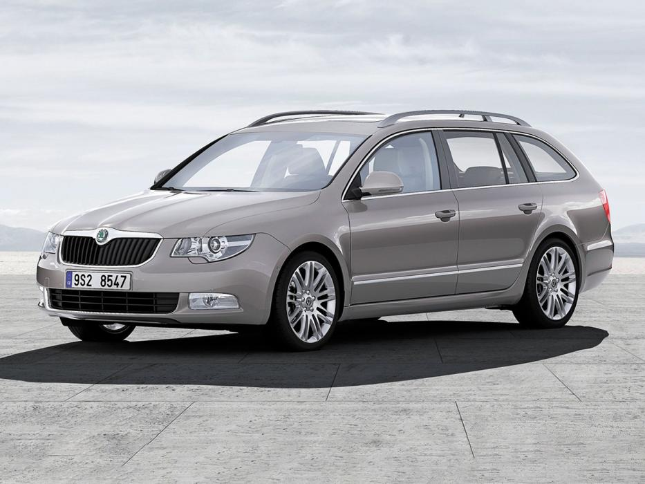 Škoda Superb Combi 2008 2.0 TDI 170 CV Laurin&Klement - 0