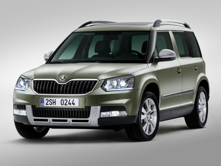 Škoda Yeti Outdoor 2009 1.6 TDI Ambition GreenLine - 0