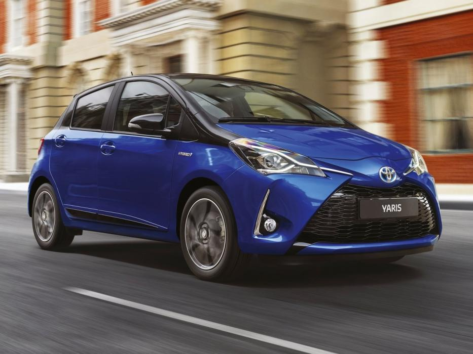toyota yaris hybrid 2014 datos y precios. Black Bedroom Furniture Sets. Home Design Ideas