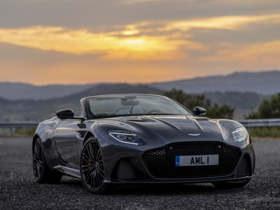 Aston Martin Dbs Superleggera Volante 2021 Datos Y Precios Autobild Es